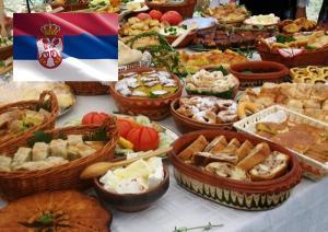 Нова година в Долни Милановац Сърбия!