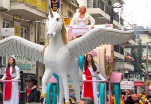 Карнавалът в Ксанти 2016г