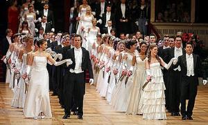 Балът на Виенската опера, Виена, Австрия