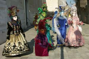 Карнавал във Венеция - самолетна програма
