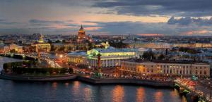Септемврийски празници в Русия - Речен круиз от Санкт Петербург до Москва