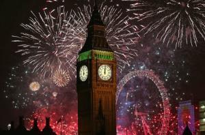 Нова Година в Лондон