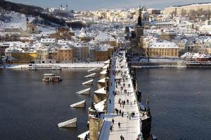 Нова година в Прага и Будапеща