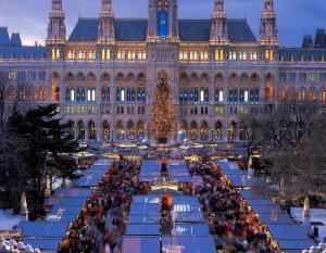 Коледа във Виена и Будапеща с включена празнична вечеря на 24.12.2018