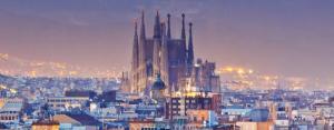 Коледа в Барселона, Испания с полет от София