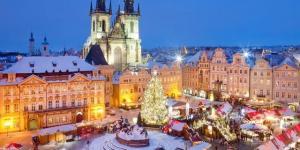 Калодна приказка в Прага, Чехия с включена празнична вечеря за Бъдни вечер