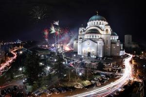 Нова година в Белград, Сърбия със собствен транспорт