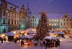 Коледни базари във Виена, Австрия от София полет с Austrian Airlines