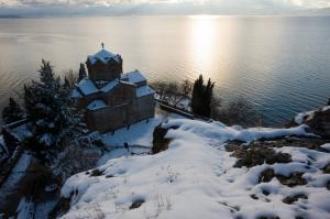 Коледа в Охрид, Македония + празнична вечеря, автобус от София