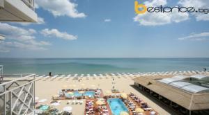 Почивка на море в хотел Мура ,к.к Албена!Една нощувка на база AI inclusive , басейни с чадър и шезлонги около басейна плаж с чадър и шезлонги на плажа!